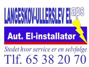 Langeskov-Ullerslev el logo
